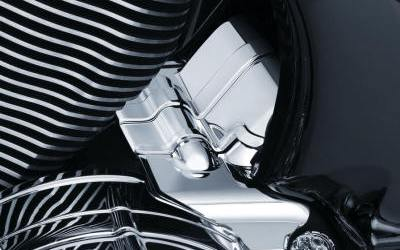Kuryakyn Chrome Transmission Center Cover 5696